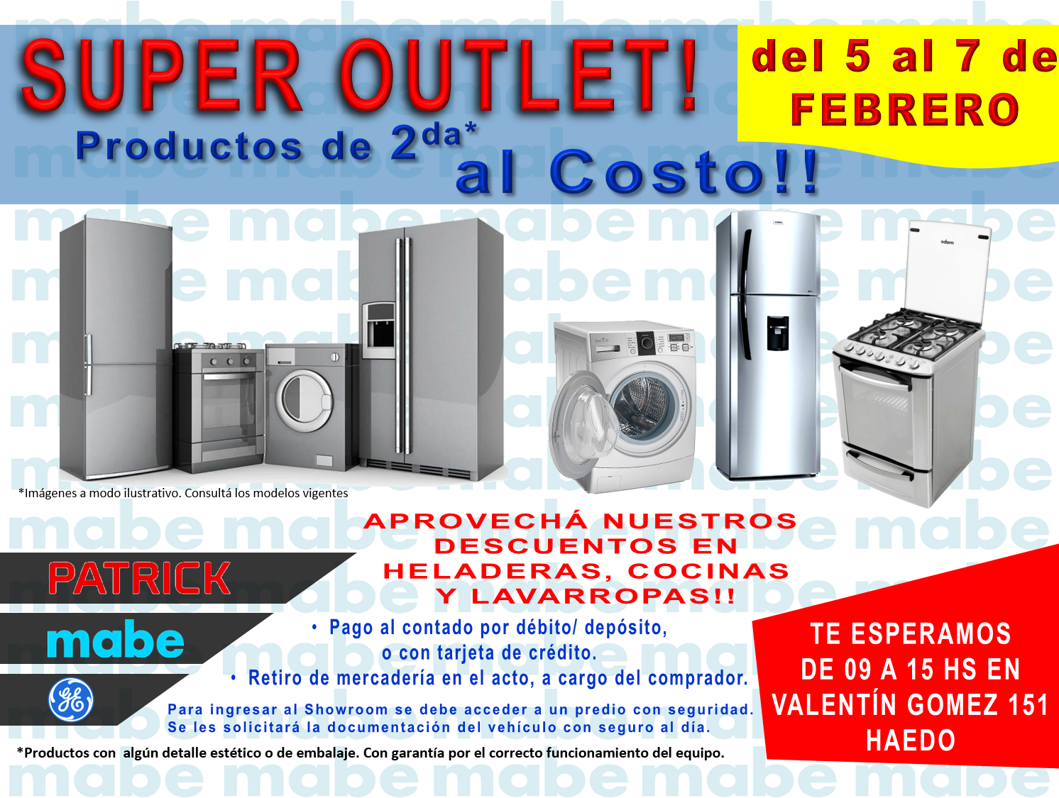 Mabe Super Outlet