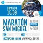 """Arrancan las fiestas patronales con la maratón """"San Miguel Arcángel"""""""
