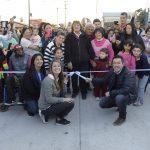 Leo Nardini inauguró el pavimento de la calle José Márquez